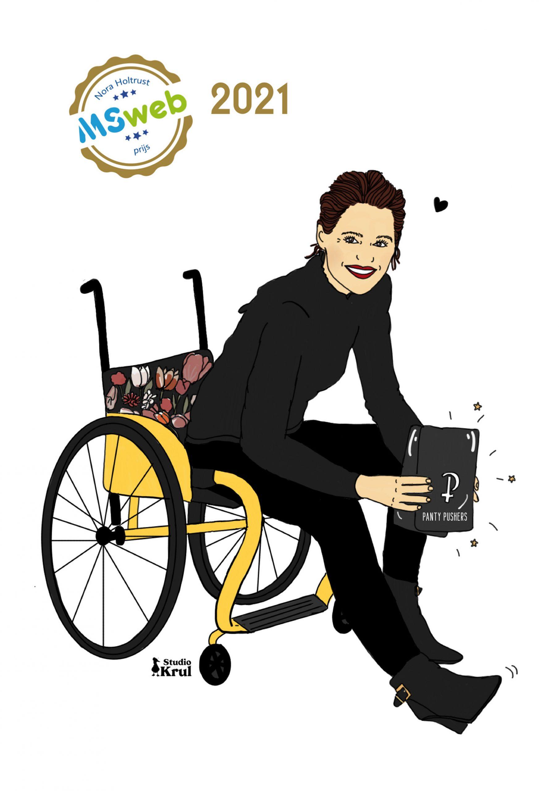 Sarah Kingma winnaar NHM-prijs 2021